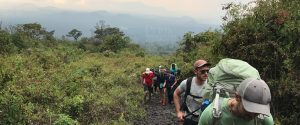 8 days gorilla safari Congo mount Nyiragongo hiking trip