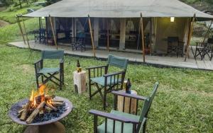 Tchegera Island Camp Congo