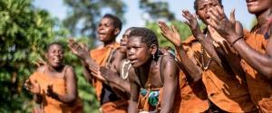 batwa people in Virunga National Park Congo