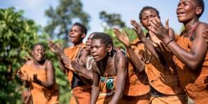 batwa people in congo virunga national park congo
