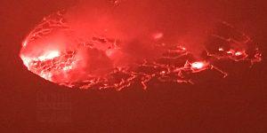 Mount Nyiragongo volcano hike